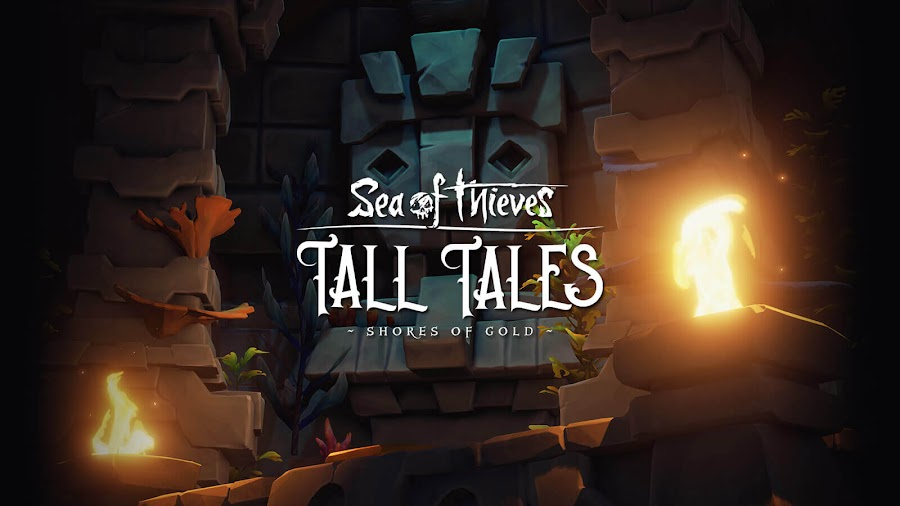 sea of thieves free shores of gold tall tales anniversary update xb1