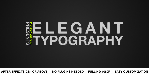 Elegant Typography