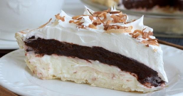 Coconut Fudge Pie Recipe