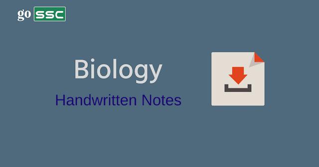 biology-handwritten-notes