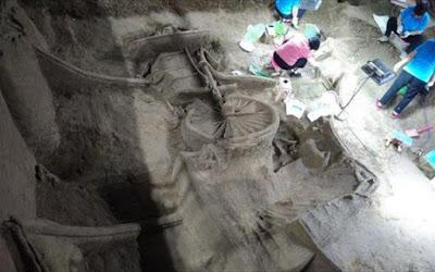 Κίνα: Ανακαλύφθηκε αρχαία βασιλική «λιμουζίνα» 2.400 ετών