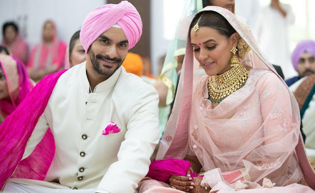 Neha Dhupia marriage angad bedi