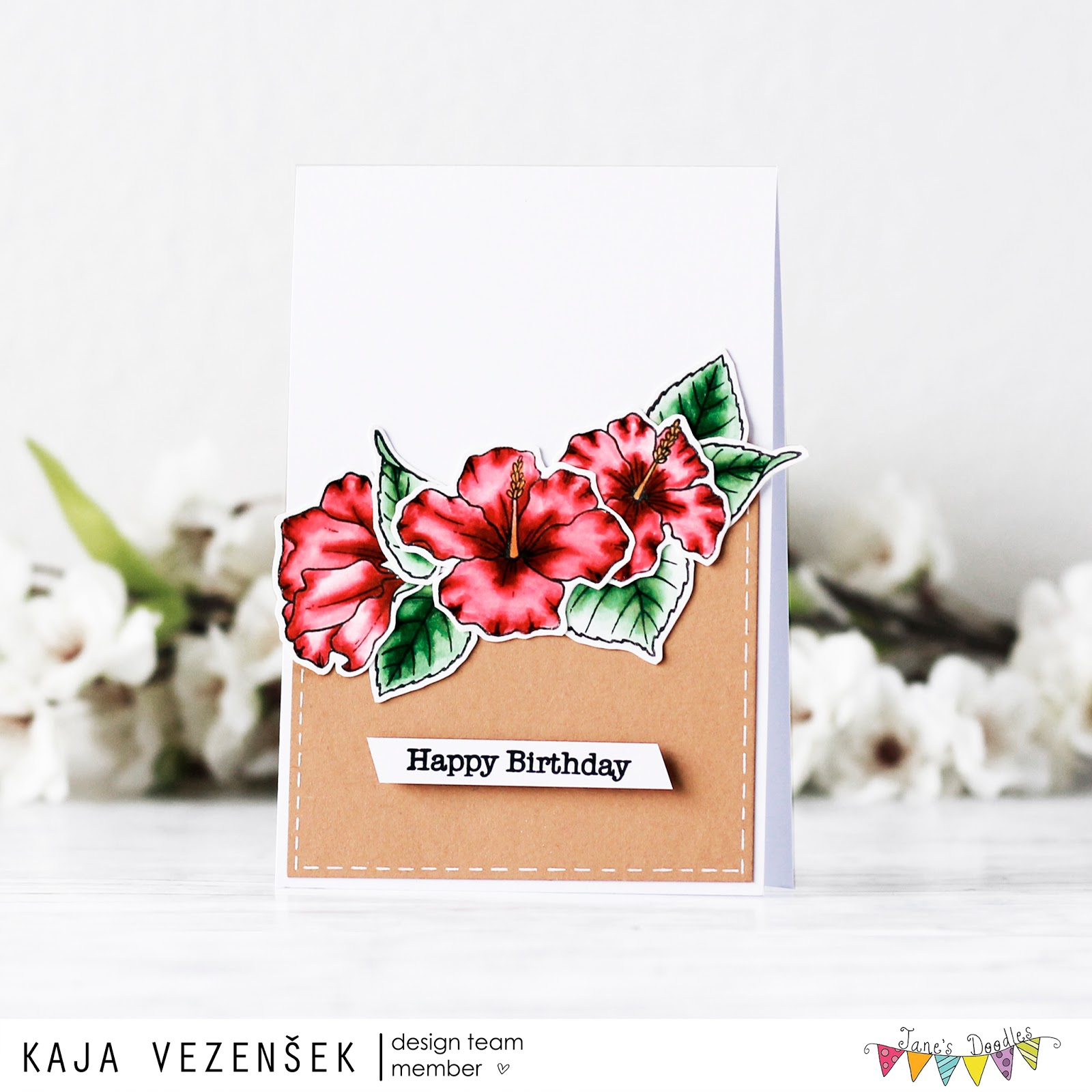 Watercolored blooms | JANE'S DOODLES