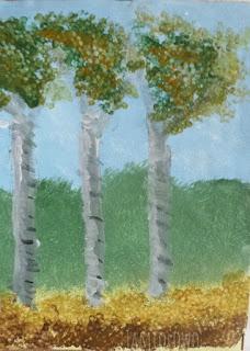 obrazek malowany akrylami