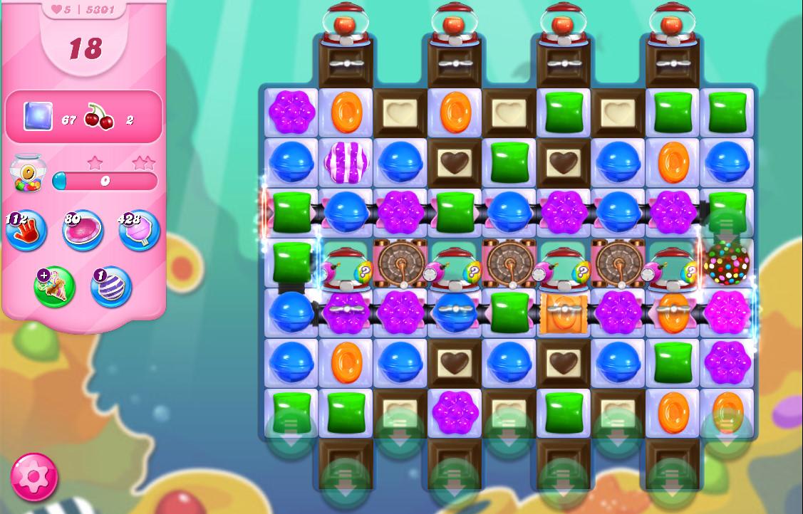 Candy Crush Saga level 5301