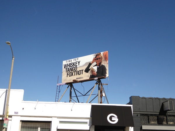 Whiskey Tango Foxtrot billboard