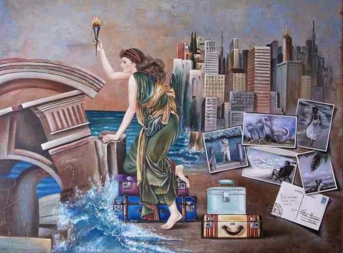 Картины с оттенком сюрреализма. Fatima Marques