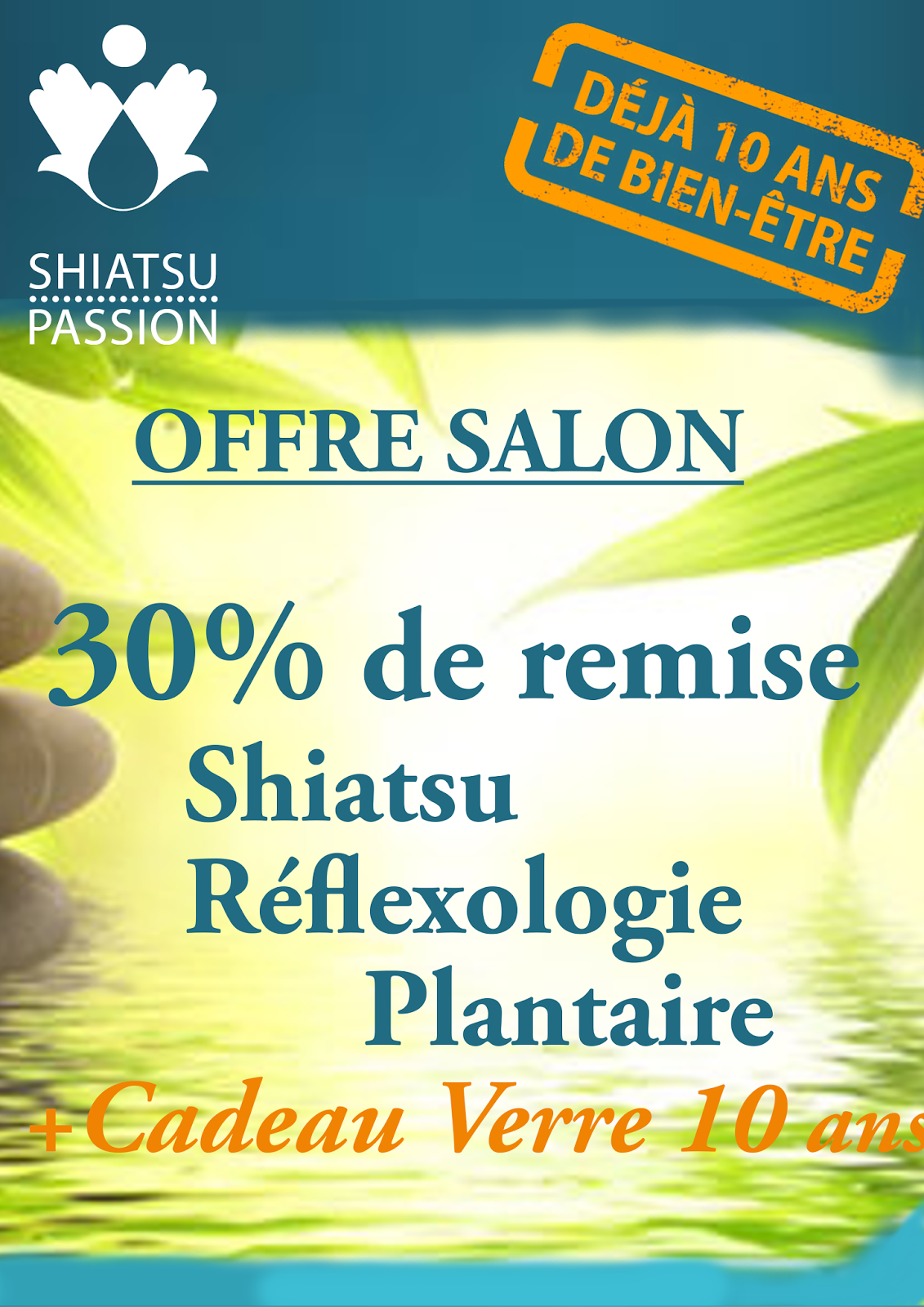 Shiatsu passion fran oise couteron salon natura 2017 for Salon du chiot reze 2017