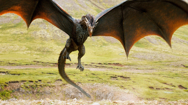 Los Lunes Seriéfilos Game of Thrones Drogon