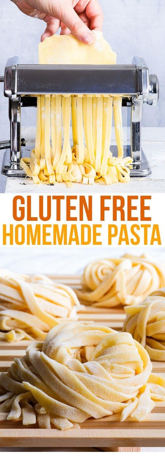 Homemade Gluten Free Pasta