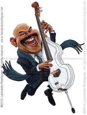Caricatura de Bajista