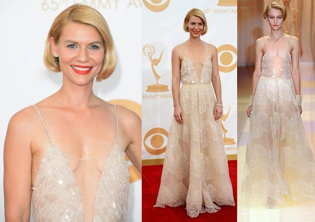 Claire Danes in Armani Privé – 2013 Emmy Awards