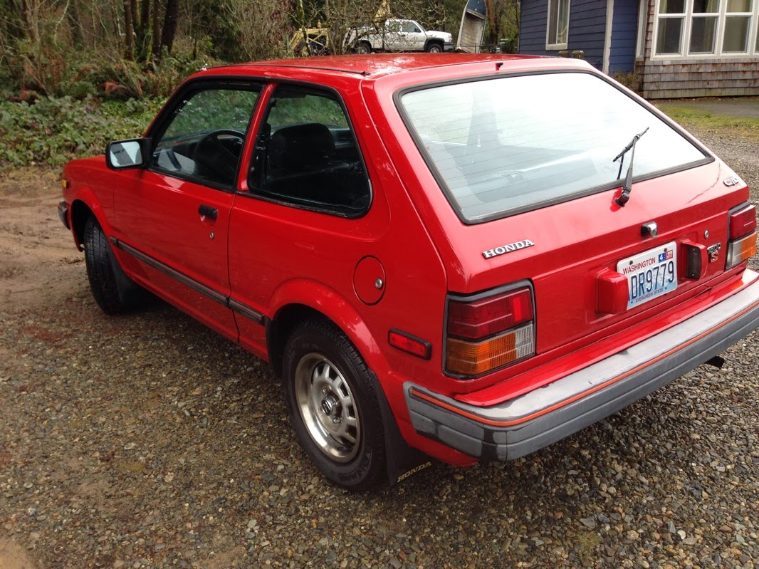 Just A Car Geek: 1983 Honda Civic S - From The Days When ...