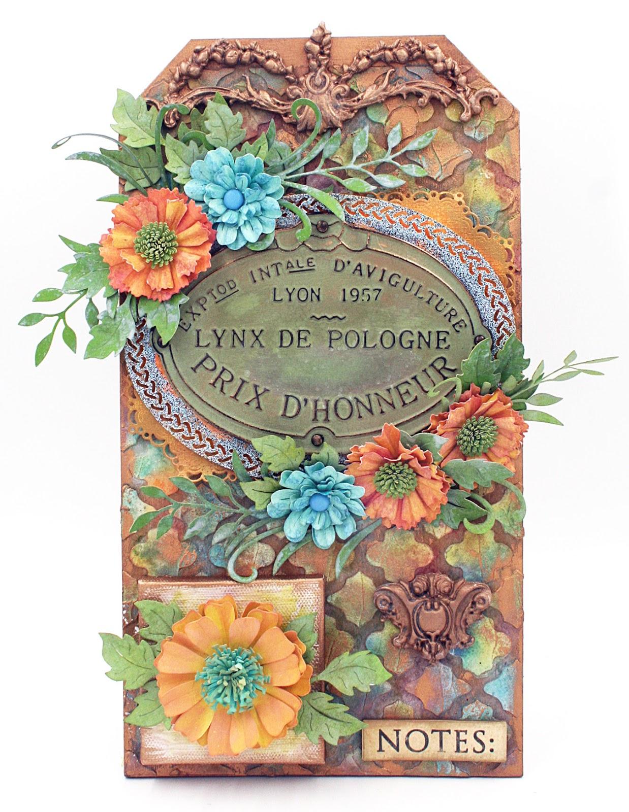 Spring Flowers With Maggi Cheery Lynn Designs