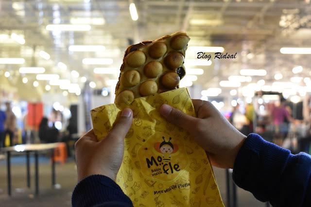 Medan Night Market: Akhirnya bisa kesini - Wafel nutella dari Mofle