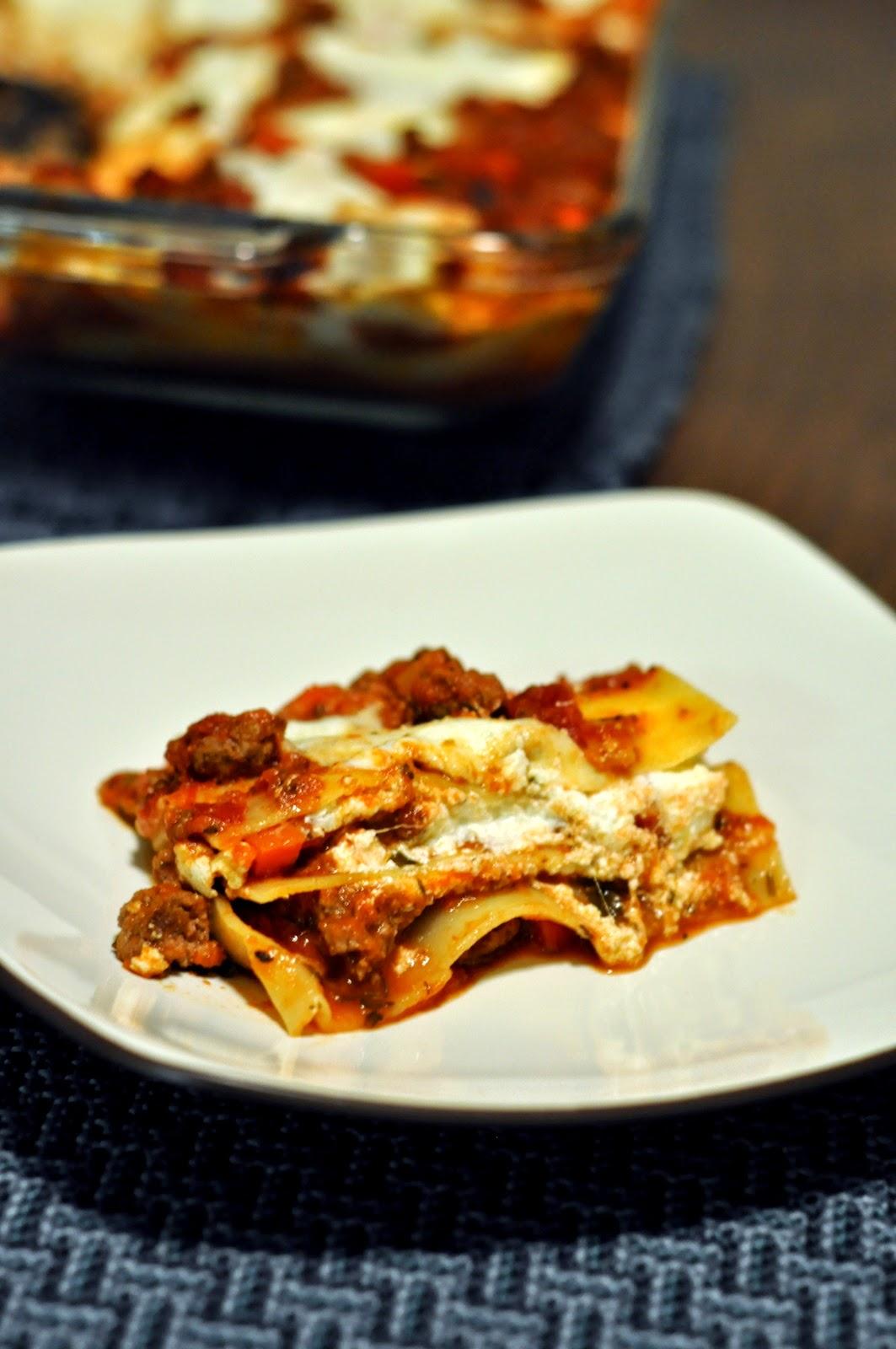 Simple Meat Lasagna | Taste As You Go
