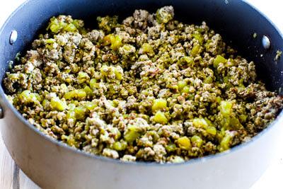 Kalyn's Kitchen®: Green Chile Turkey Paleo Taco Salad