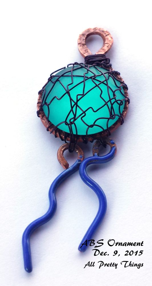 All The Pretty Things Art Bead Scene Ornament Blog Hop