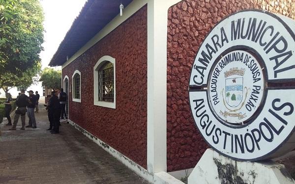 Polícia investiga esquema de propina na Câmara de Augustinópolis — Foto: Lucas Ferreira/ TV Anhanguera
