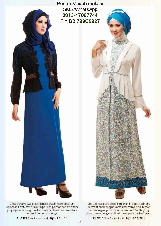 baju lebaran anak wanita baju muslim terbaru 2019
