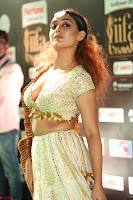 Apoorva Spicy Pics in Cream Deep Neck Choli Ghagra WOW at IIFA Utsavam Awards 2017 100.JPG