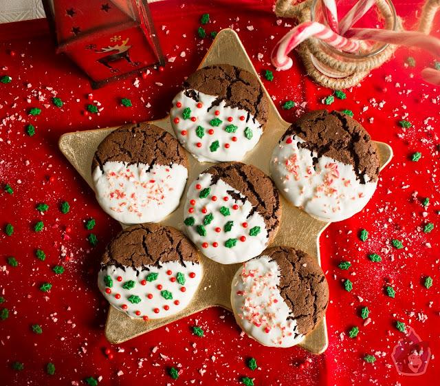 Cookies Navideñas de Chocolate Especiado