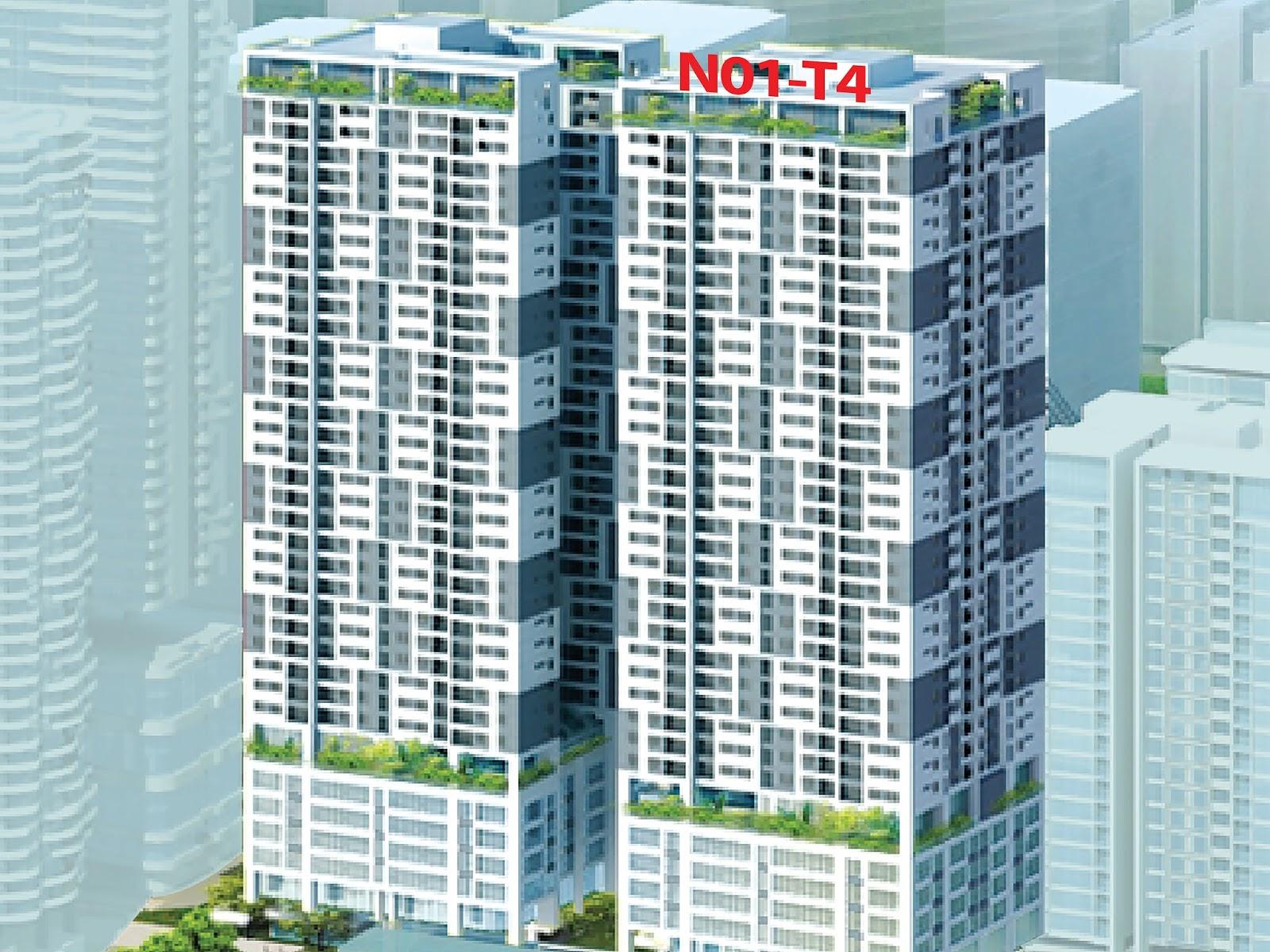 Cuộc sống thăng hoa cùng tiện ích căn hộ chung cư N01T4 Ngoại Giao Đoàn