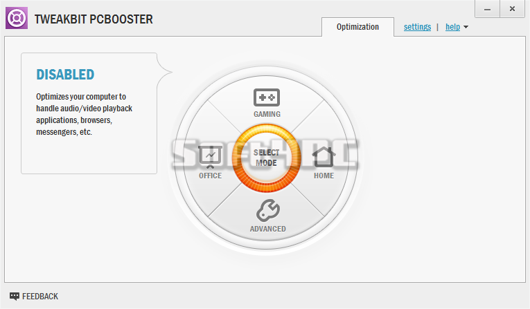 TweakBit PCBooster 1.6.9.7 + Crack