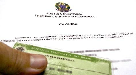 Certidão de quitação eleitoral pode ser solicitada pela internet