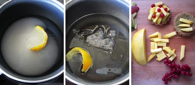 Tartaletas de mango, grosellas y pistachos (Siempredulces) - Elaboración Paso 5