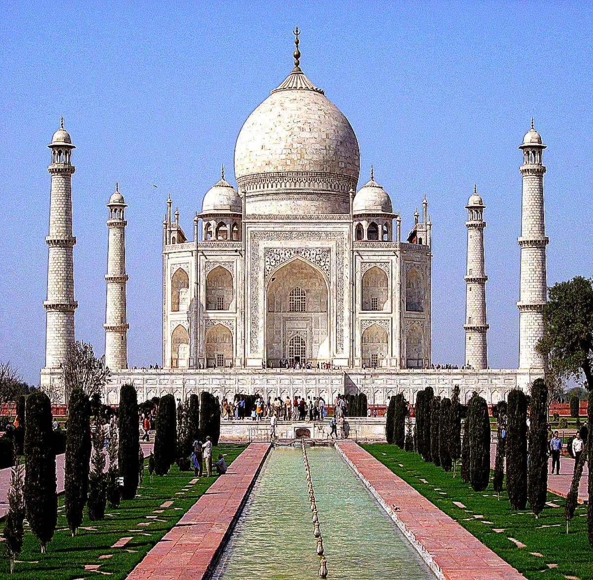 Taj mahal agra india desktop wallpapers hd background - Taj mahal background hd ...