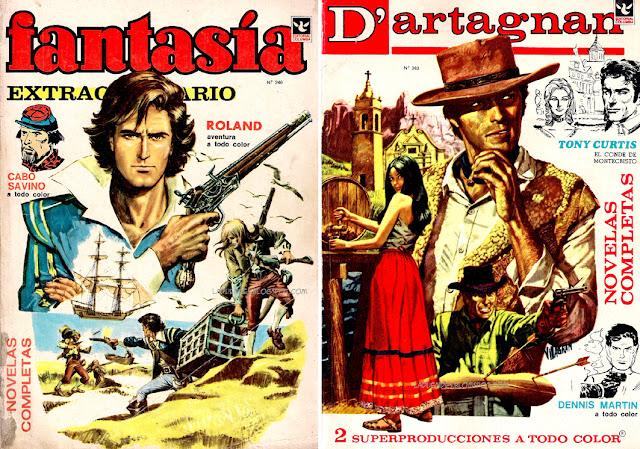 Fantasía y D'artagnan