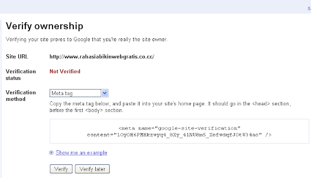 RAHASIA Search ENGINE On page