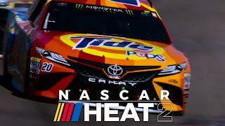 NASCAR Heat 2 Logo Wallpaper