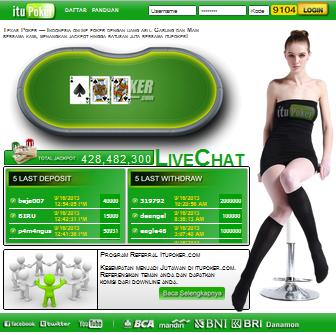 Itupoker agen poker online indonesia terpercaya free slot machine games online