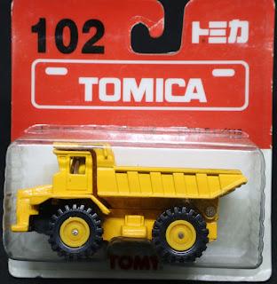 Tomica - 102, 吸塑包裝