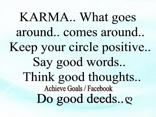 What Goes Around Karma Quotes. QuotesGram