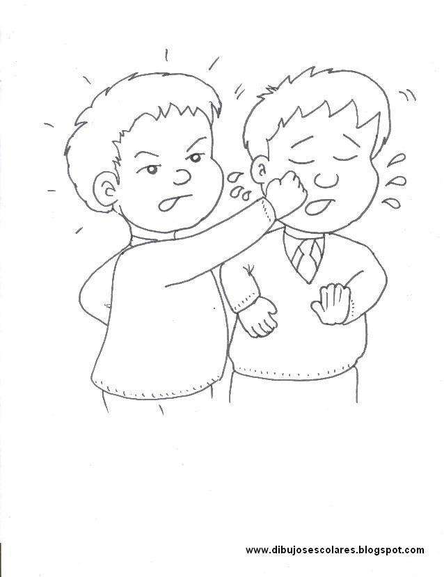 Dibujos Escolares Convivencia Escolar