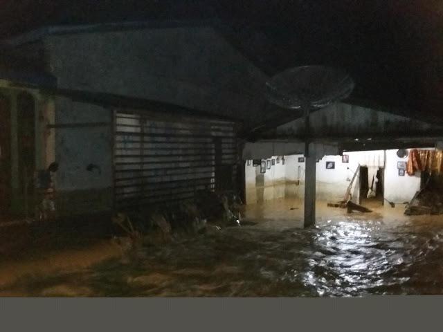 Akibat Banjir, 4 Unit Rumah di Abdya Rusak Parah