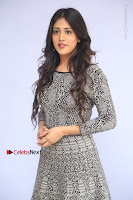 Actress Chandini Chowdary Pos in Short Dress at Howrah Bridge Movie Press Meet  0107.JPG