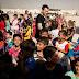 L'Ambassadeur de bonne volonté de l'UNICEF Ewan McGregor rencontre des enfants déplacés en Iraq