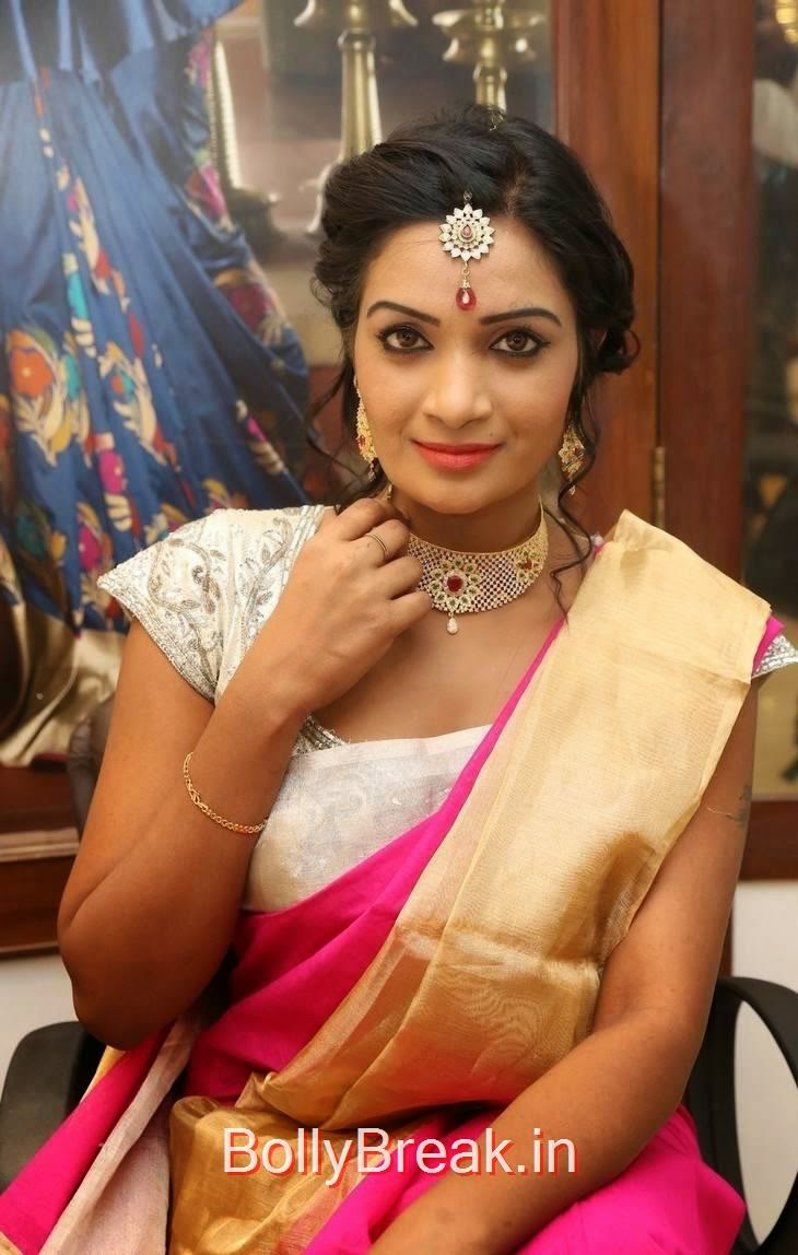 Tollywood Actress Sreevani Reddy, Sreevani Reddy Hot Hd Images in Saree