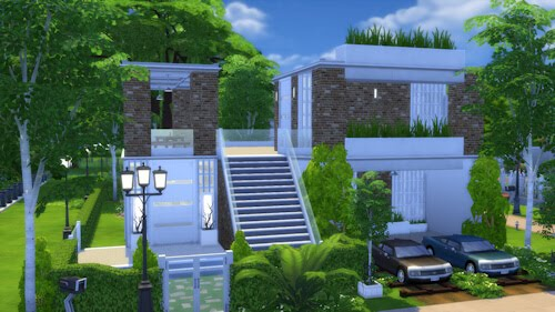 Sims 4 Residential