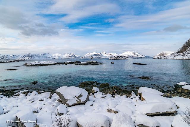 Lofoten, mar turquesa, por El Guisante Verde Project