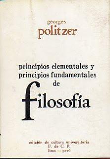 Varias ediciones distintas de los «Cursos de Filosofía» de Georges Politzer. También conocidos como: «Principios Elementales y Fundamentales de Filosofía» 52539a8158c082a371000000.RS500x500