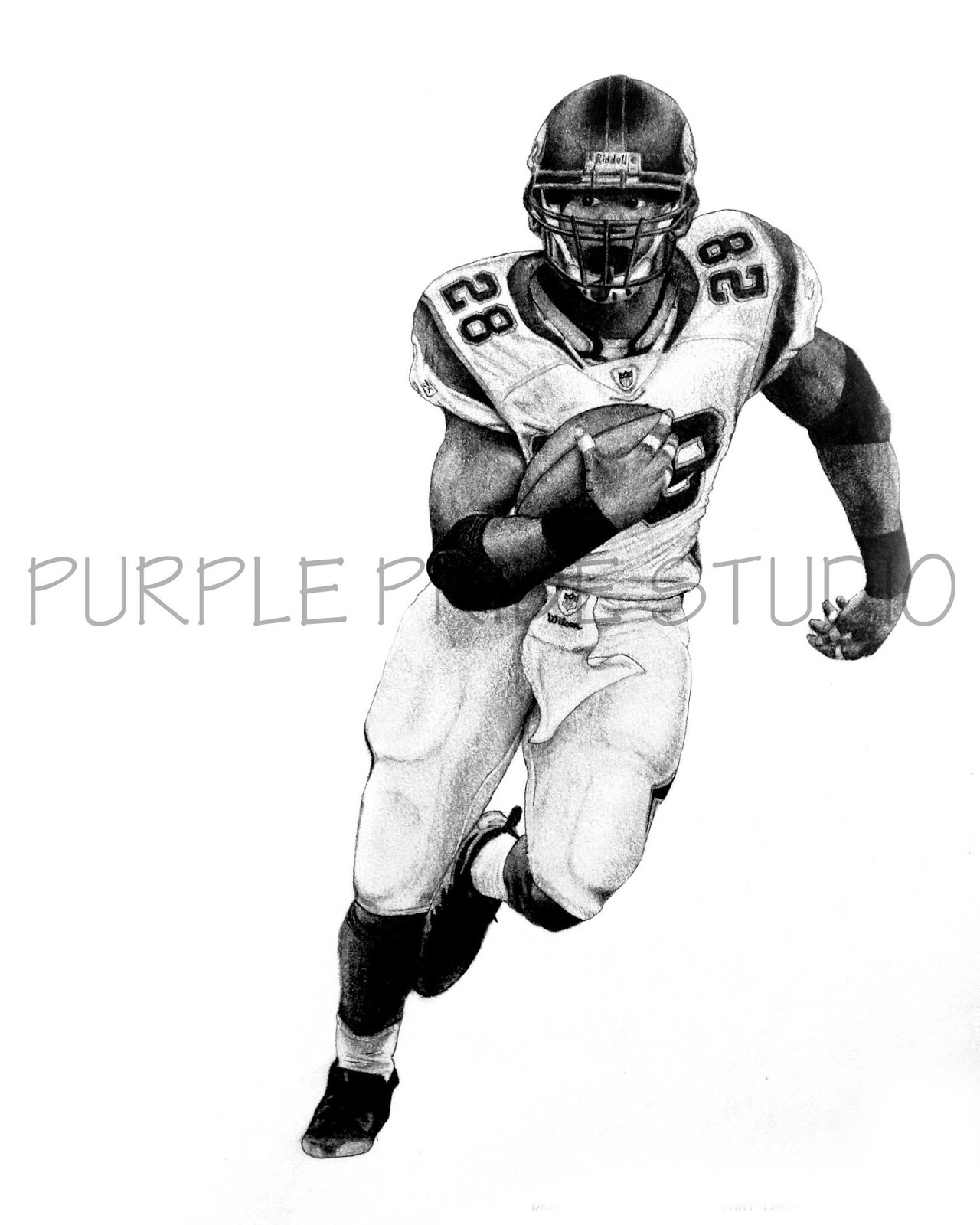 Nfl Football Player Drawings | Free download on ClipArtMag |Nfl Drawings
