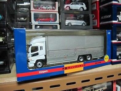 mainan truk fuso super great miniatur