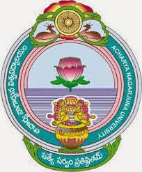 Acharya Nagarjuna University Timetable 2016