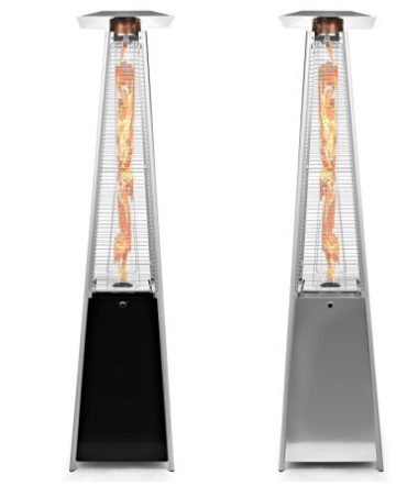 Thermo Tiki Deluxe Propane Outdoor Patio Heater,