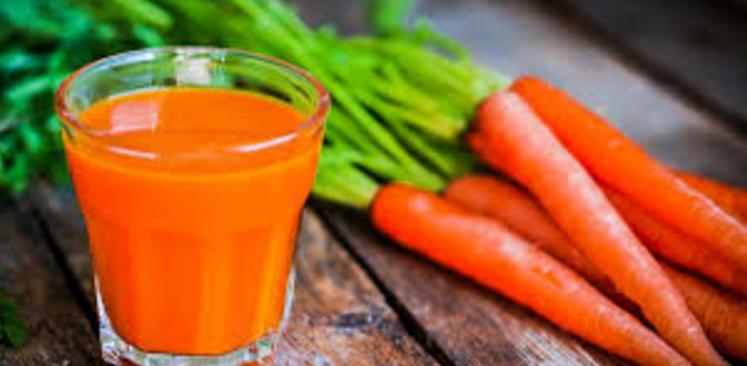 गाजर का रस उपयोग